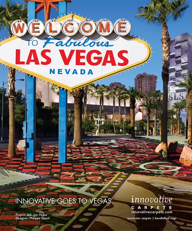 Las Vegas Ad for Innovative Carpets