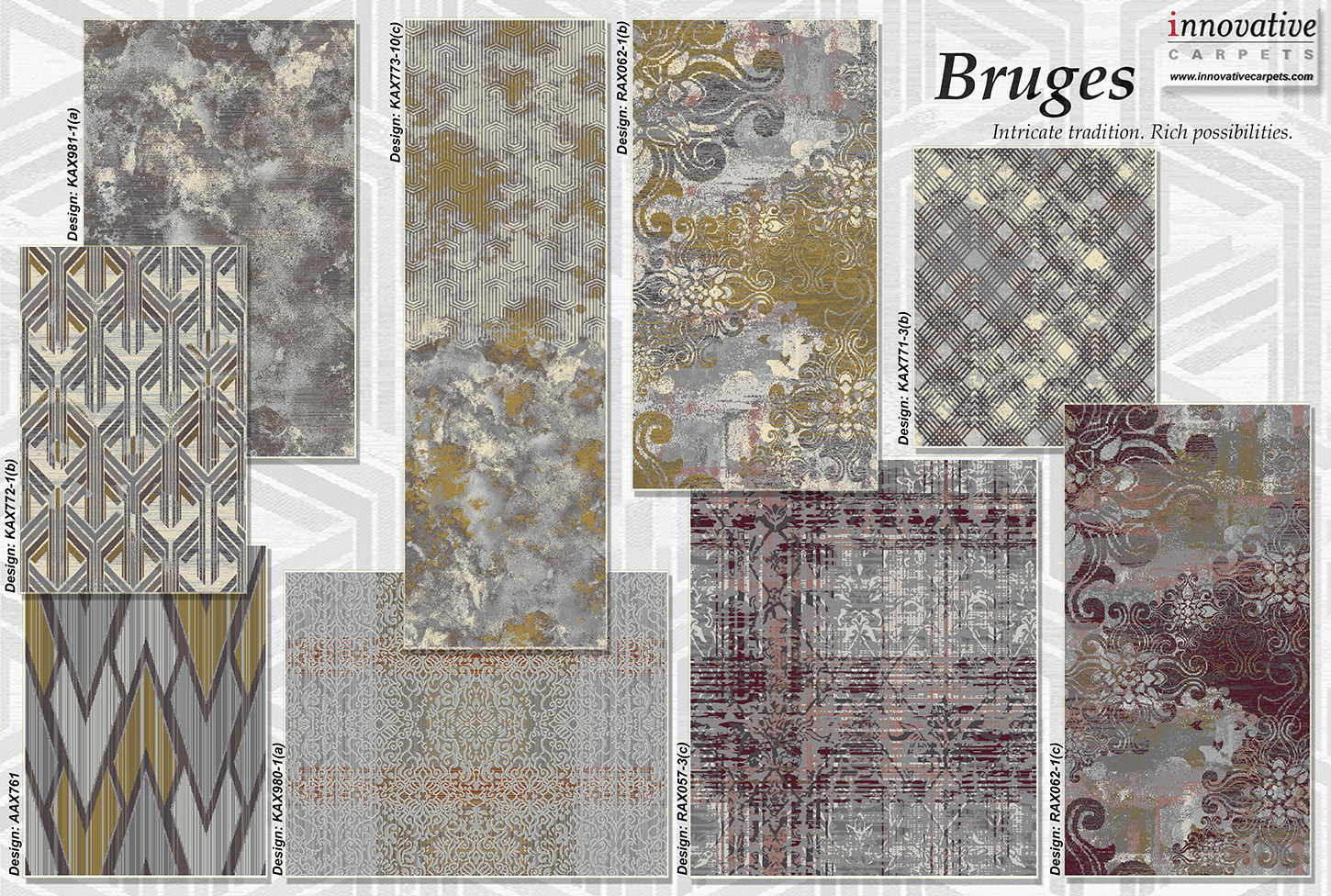Bruges Collection - Innovative Carpets