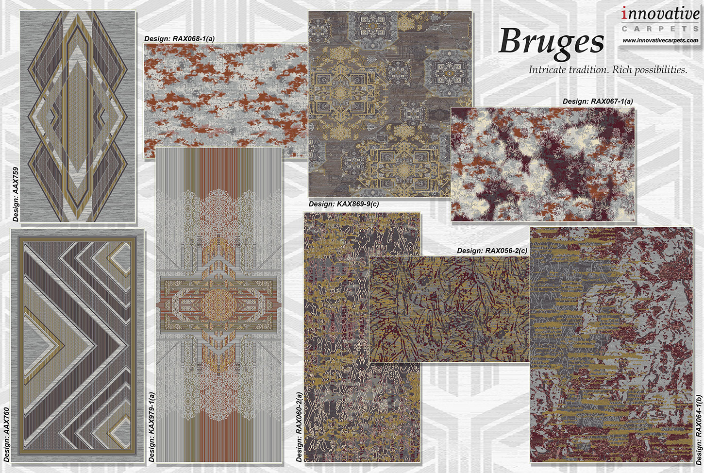 Bruges Collection Page 2 Innovative Carpets