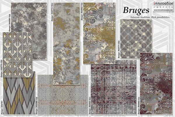 Bruges New Collection - Innovative Carpets