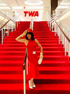 TWA Hotel carpets by Innovative Carpets
